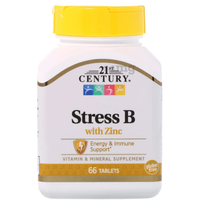 21st Century Stress B with Zinc Tablet