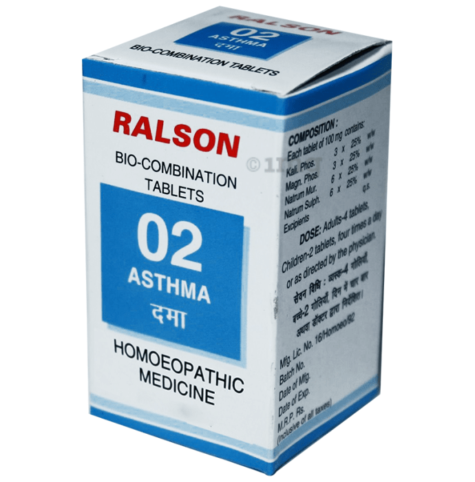 Ralson Remedies Bio-Combination 02 Tablet