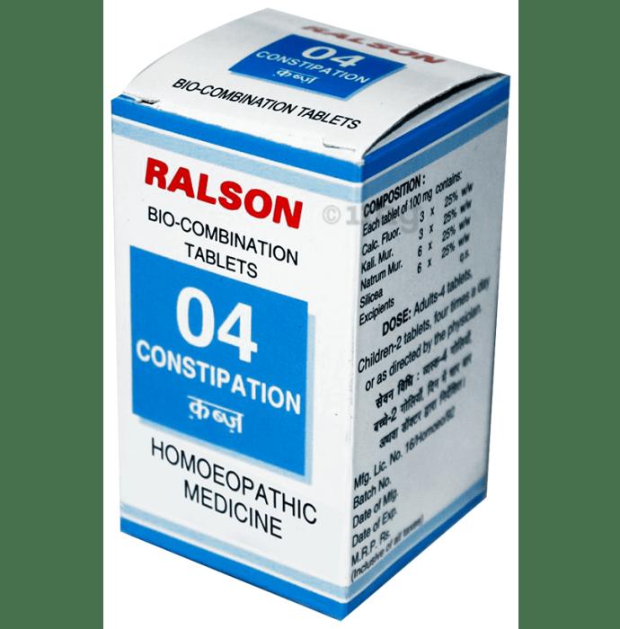 Ralson Remedies Bio-Combination 04 Tablet