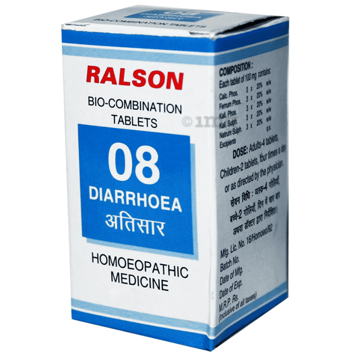 Ralson Remedies Bio-Combination 08 Tablet
