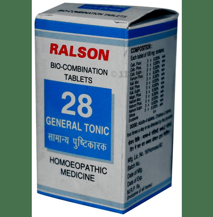 Ralson Remedies Bio-Combination 28 Tablet