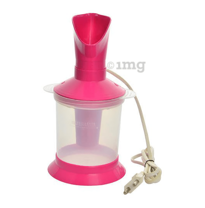 Healthtokri 3 in 1 Facial Sauna Steamer/Vaporizer with Crystal Clear Eye Wash Cup Free Pink