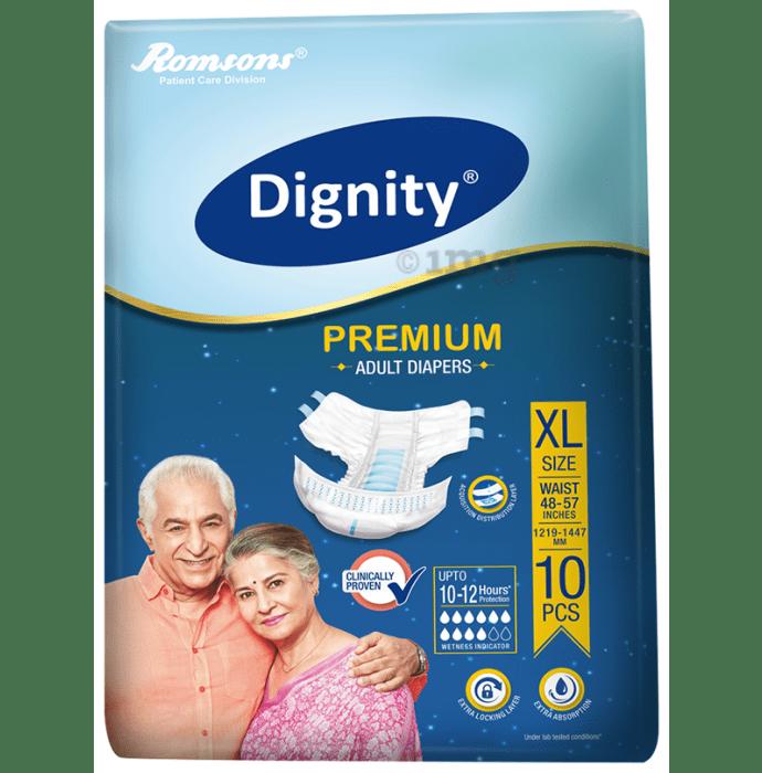 Dignity Premium Adult Diaper XL
