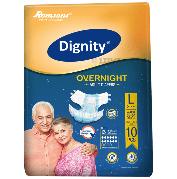 Dignity Overnight Adult Diaper Large