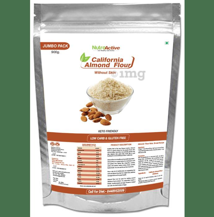 NutroActive California Almond Flour Without Skin