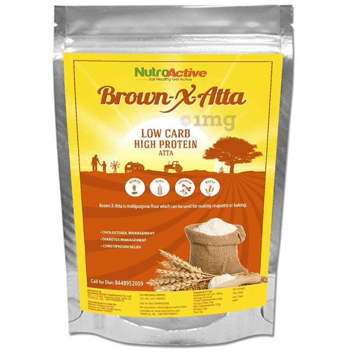 NutroActive Brown-X-Atta Low Carb High Protein