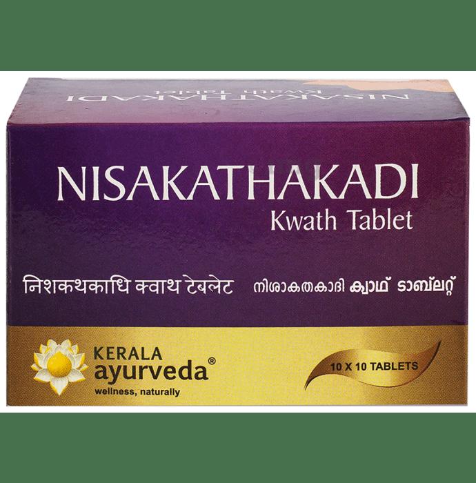 Kerala Ayurveda Nisakathakadi Kwath Tablet