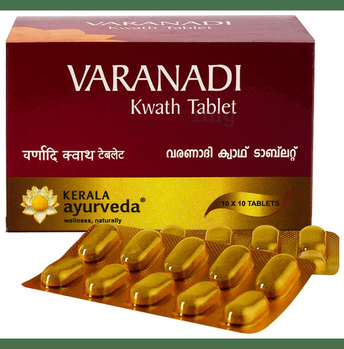 Kerala Ayurveda Varanadi Kwath Tablet