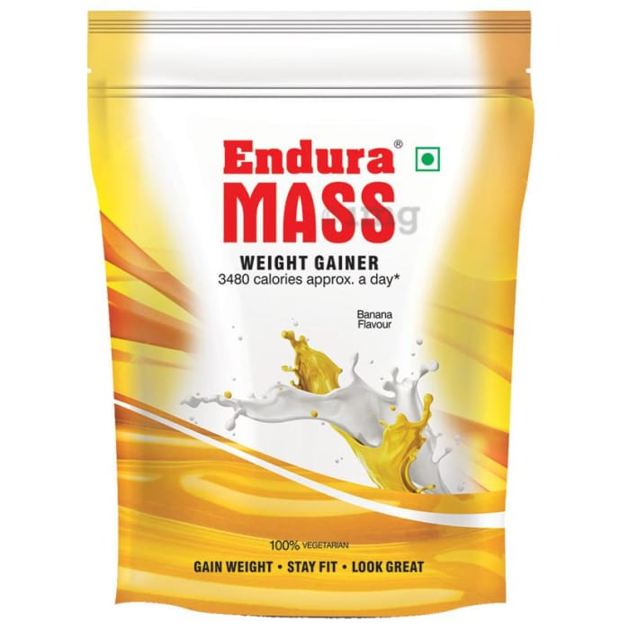 Endura Mass Weight Gainer Banana Refill