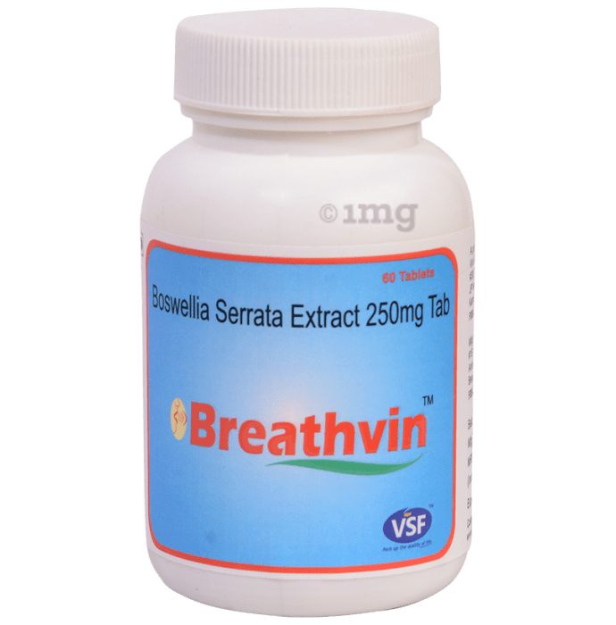 VSF Breathvin - Boswellia Serrata 250mg Tablet