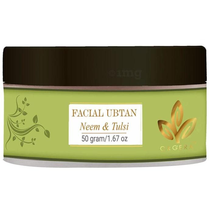 Orgera Neem and Tulsi Facial Ubtan