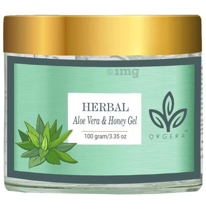 Orgera Herbal Aloe Vera and Honey Gel