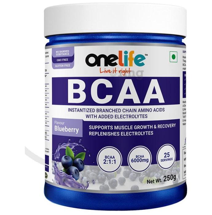 OneLife BCAA Powder Blueberry