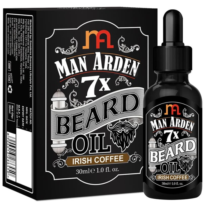 Man Arden 7X Beard Oil Irish Coffee