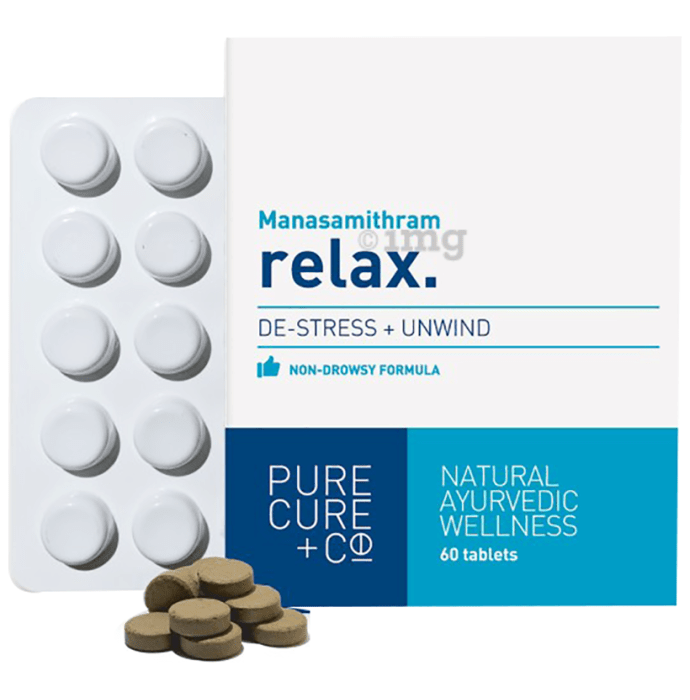 Pure Cure Manasamithram Relax Tablet