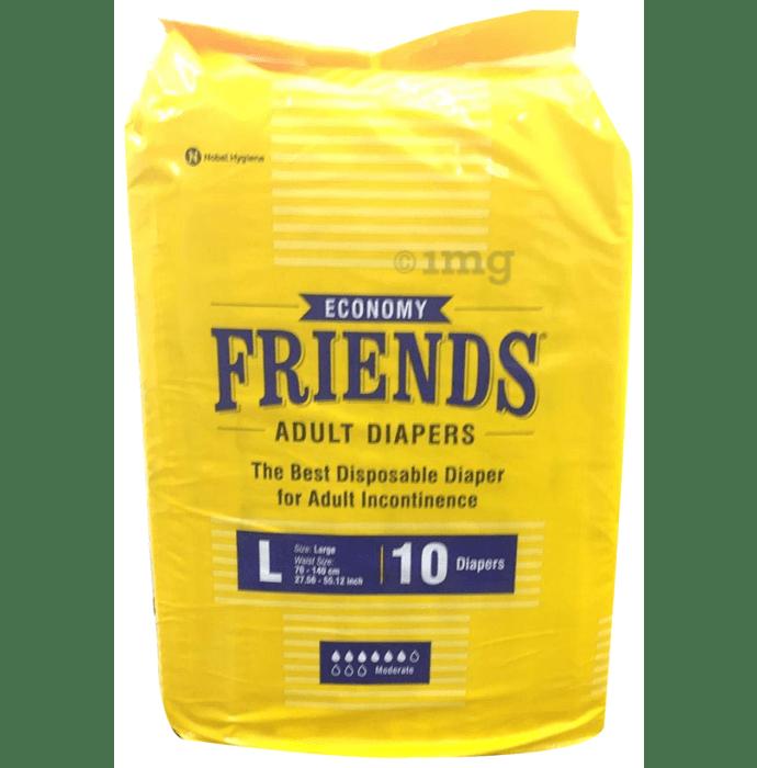 Friends Economy Adult Diaper Large
