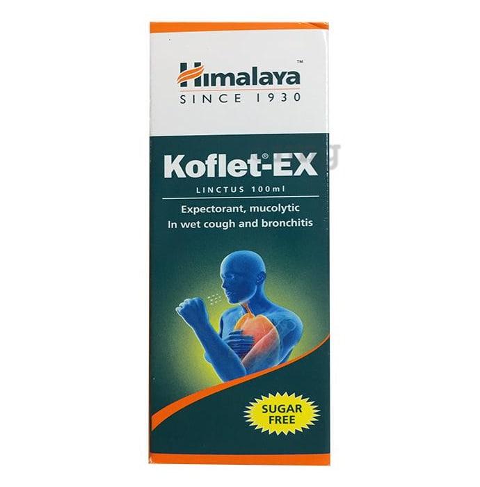 Himalaya Healthcare Koflet-EX Linctus Sugar Free