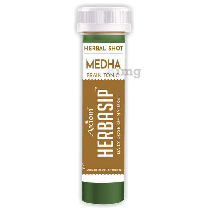 Axiom Herbasip Medha Herbal Shot (50ml Each)