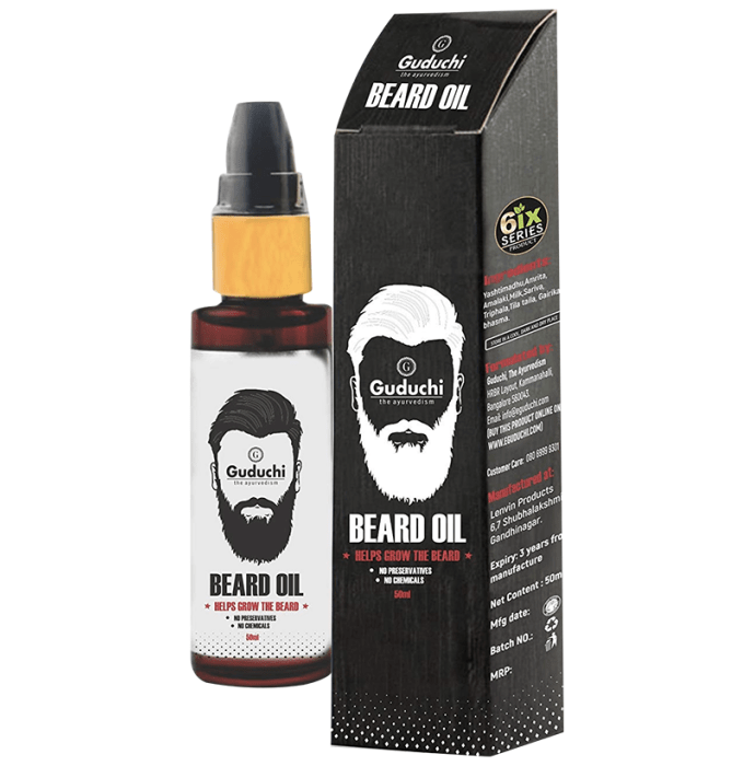 Guduchi The Ayurvedism Beard Oil