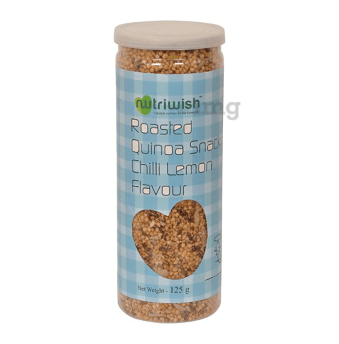 Nutriwish Roasted Quinoa Snack Chilli Lemon