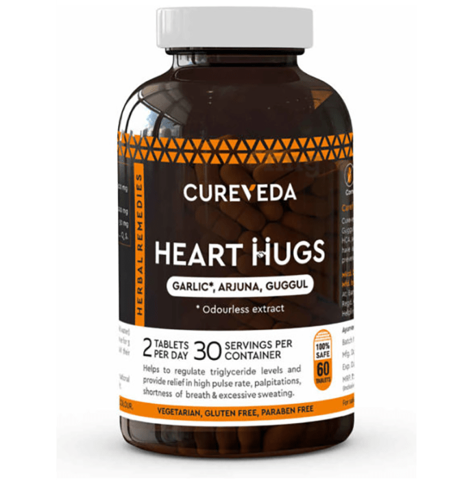 Cureveda Heart Hugs  Tablet