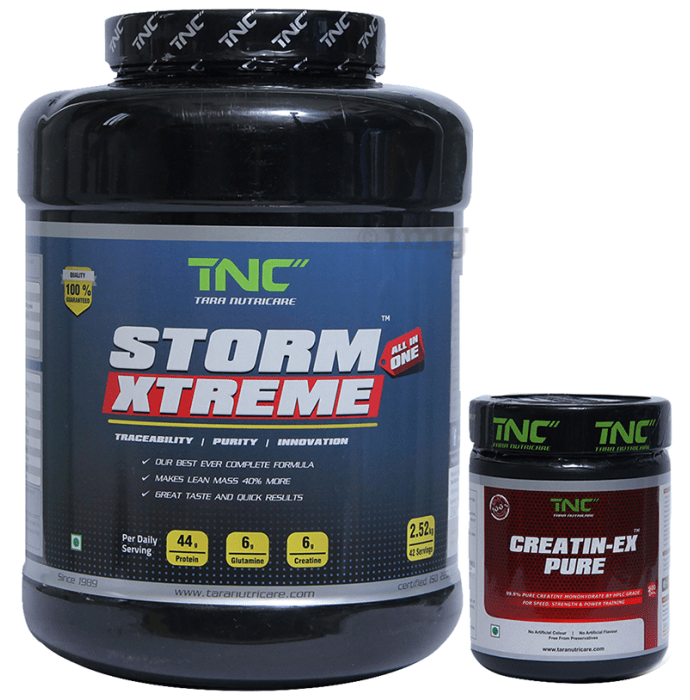 Tara Nutricare Storm Xtreme Strawberry with Creatin-Ex Pure Free