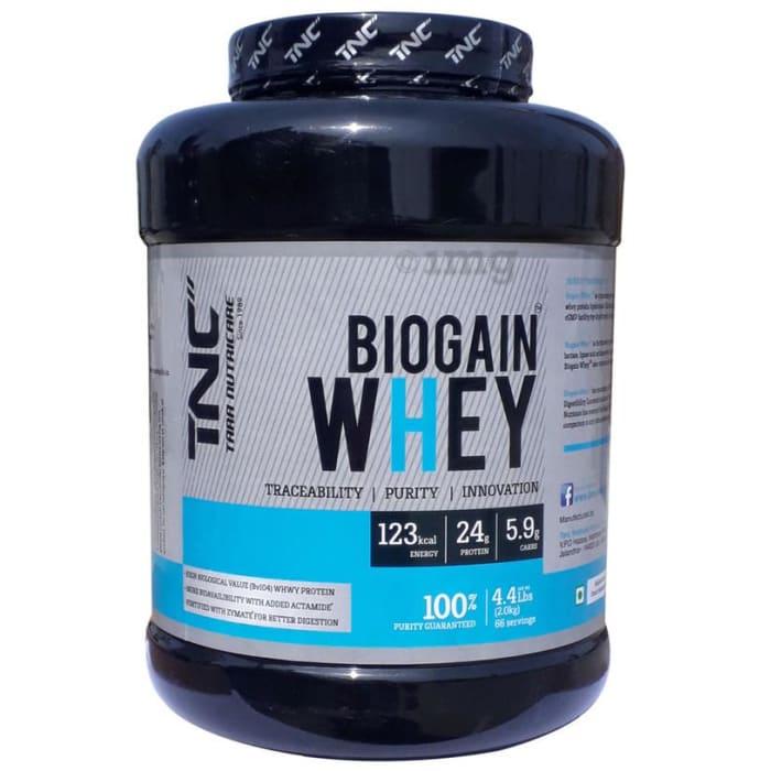 Tara Nutricare Biogain Whey Protein Powder Strawberry