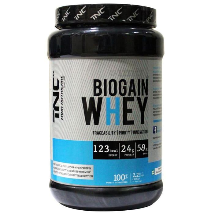 Tara Nutricare Biogain Whey Protein Powder Vanilla