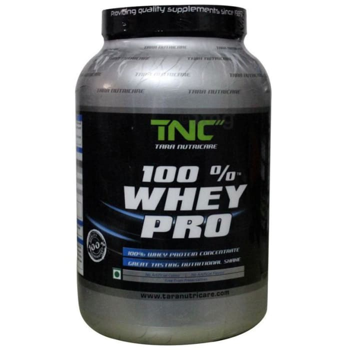 Tara Nutricare 100% Whey Pro Whey Protein Concentrate Powder Strawberry