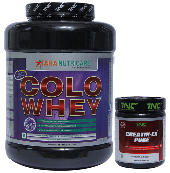 Tara Nutricare Colo Whey Protein Powder Chocolate with Creatin-Ex Pure Free