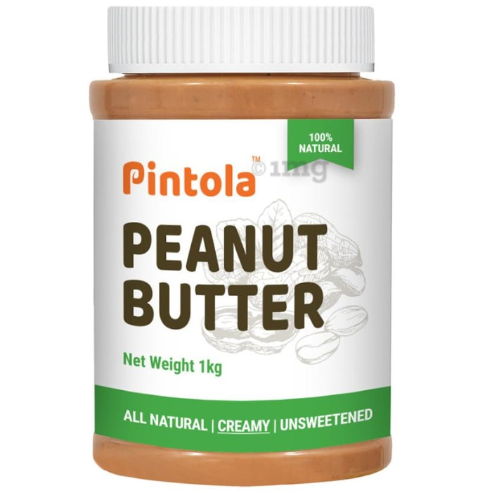 Pintola All Natural Peanut Butter Creamy Unsweetened