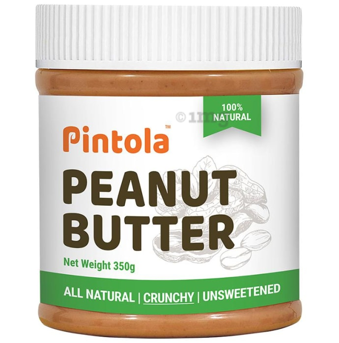 Pintola All Natural Peanut Butter Crunchy Unsweetened