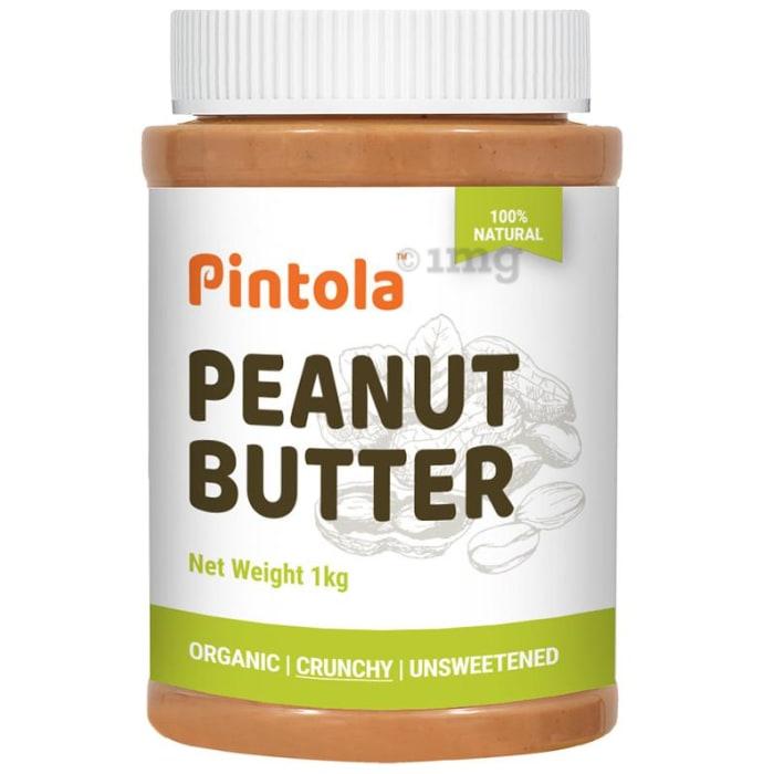 Pintola Organic Peanut Butter Crunchy Unsweetened