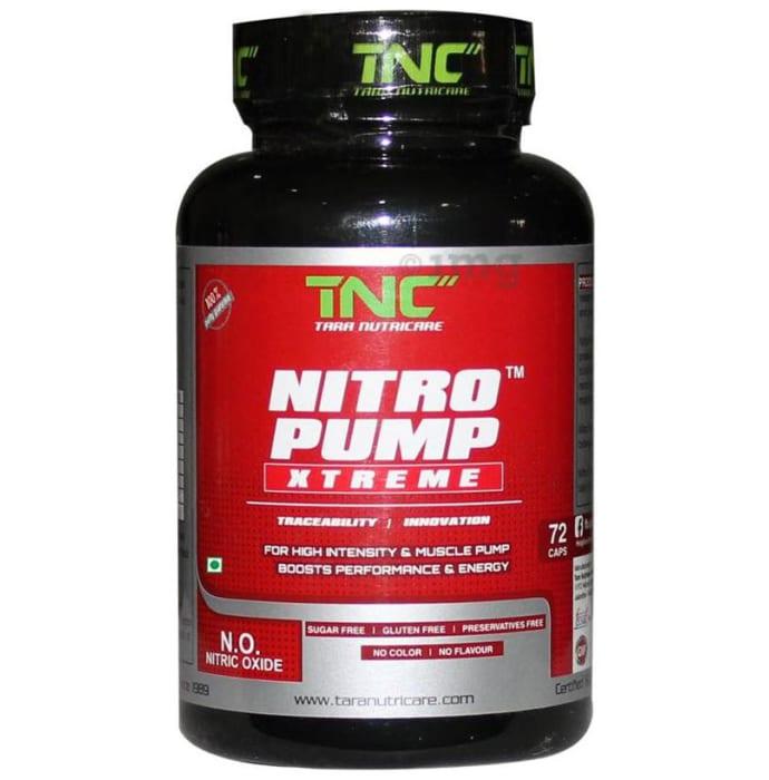 Tara Nutricare Nitro Pump Xtreme Capsule