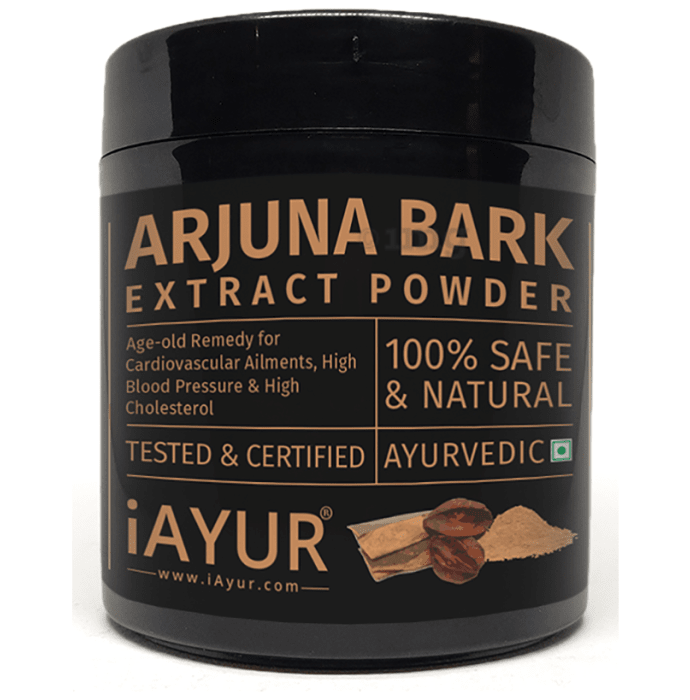 iAYUR Arjuna Bark Extract Powder