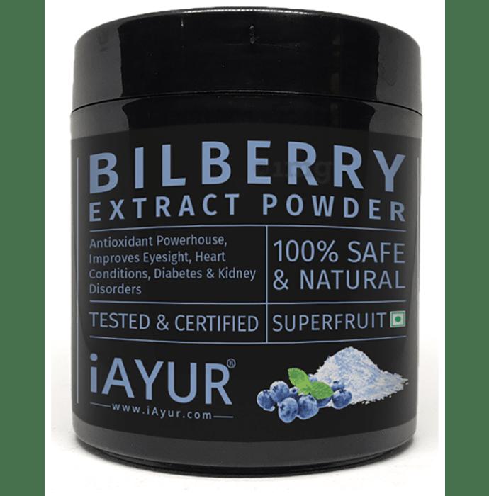 iAYUR Bilberry Extract Powder