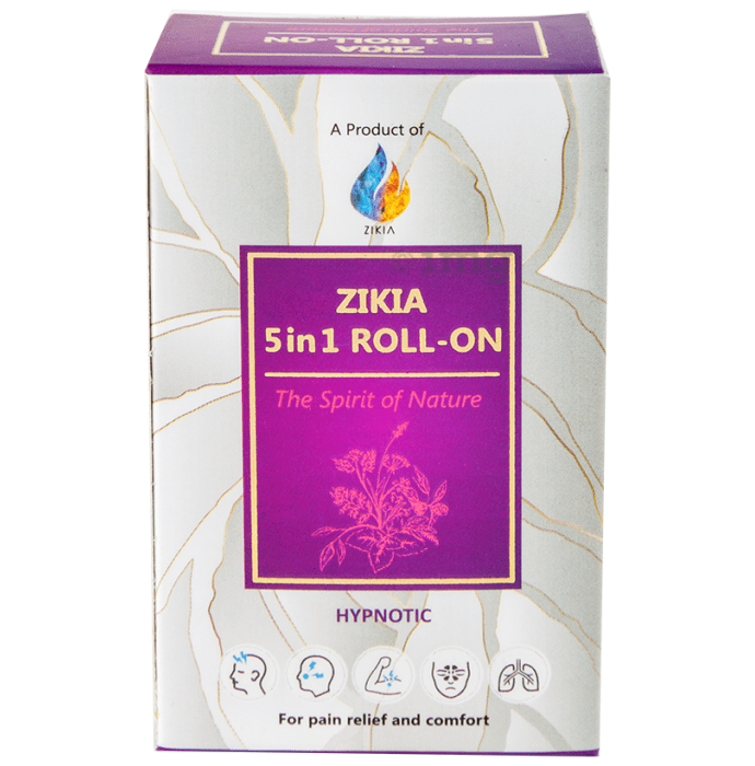Zikia 5 in 1 Roll-On Hypnotic