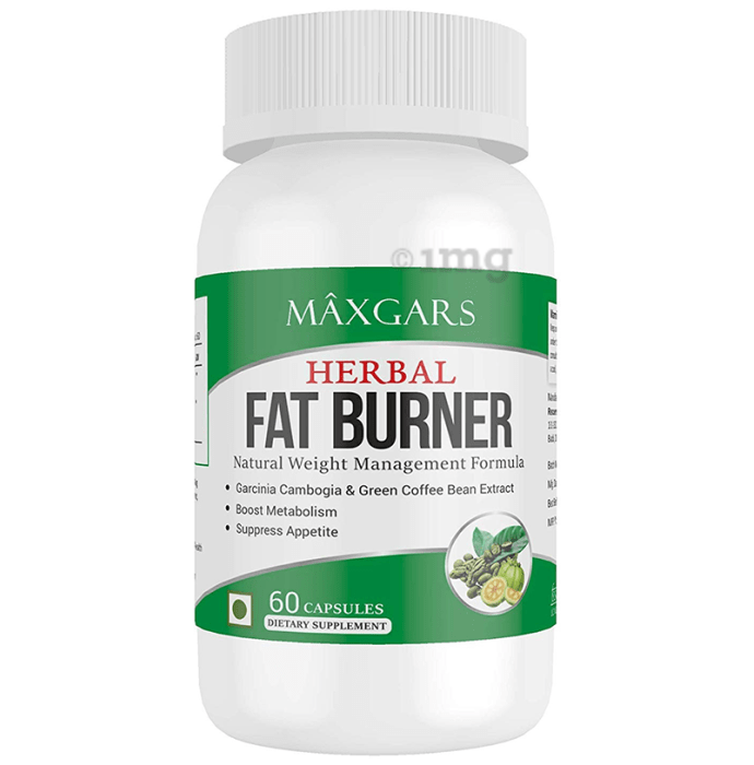 Maxgars Herbal Fat Burner Capsule
