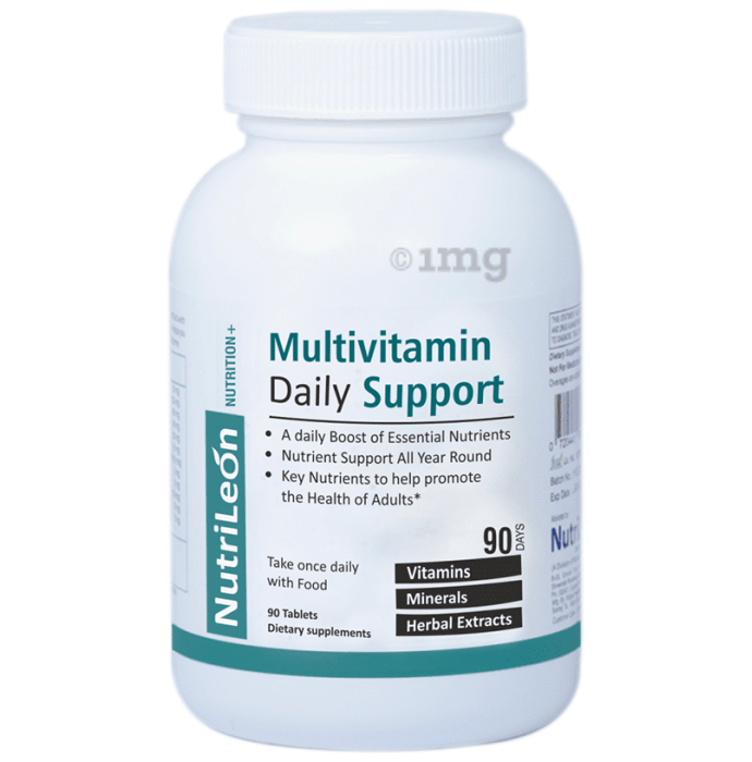 Nutrileon Multivitamin Daily Support Tablet