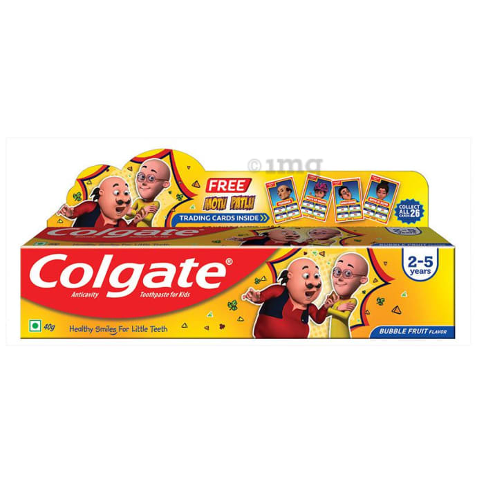 Colgate Bubble Fruit Anticavity Toothpaste for Kids