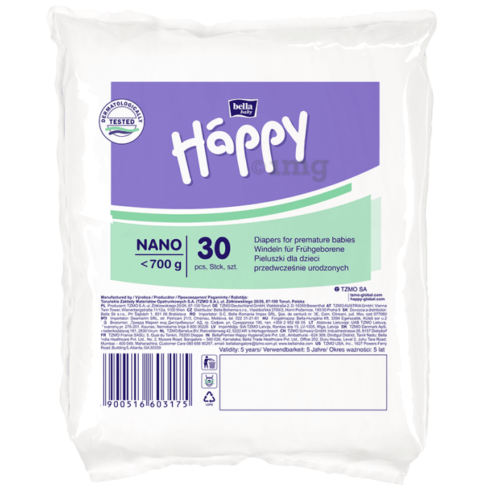 Bella Baby Happy Diaper Nano