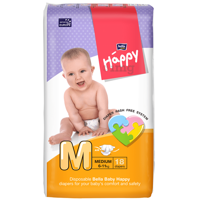 Bella Baby Happy Diaper Medium