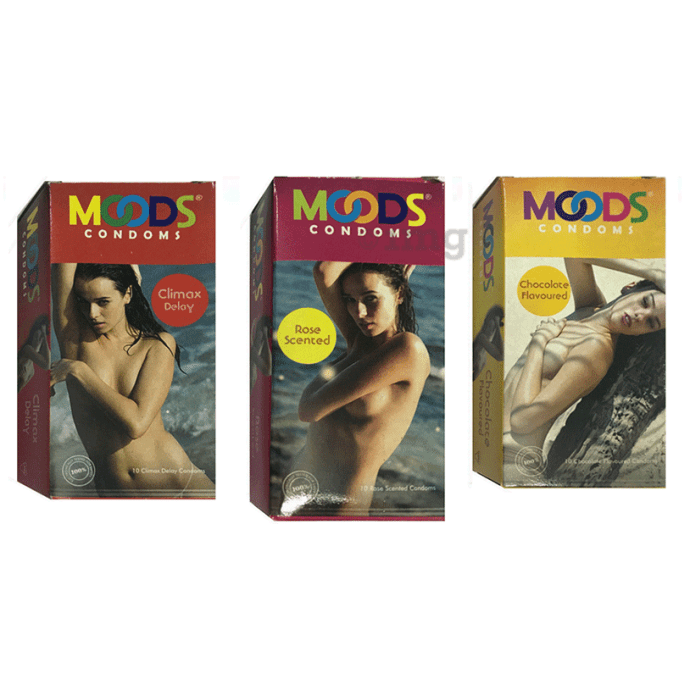 MOODS Condom Variety Pack