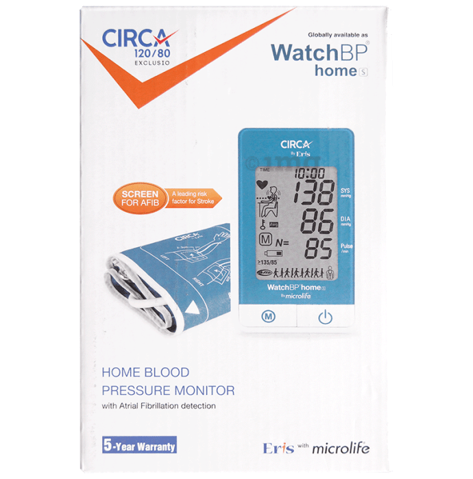 Circa 120/80 Home Blood Pressure Monitor Exclusio