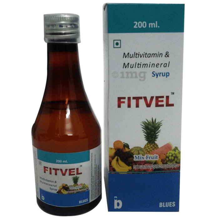 Fitvel Mixed Fruit Syrup