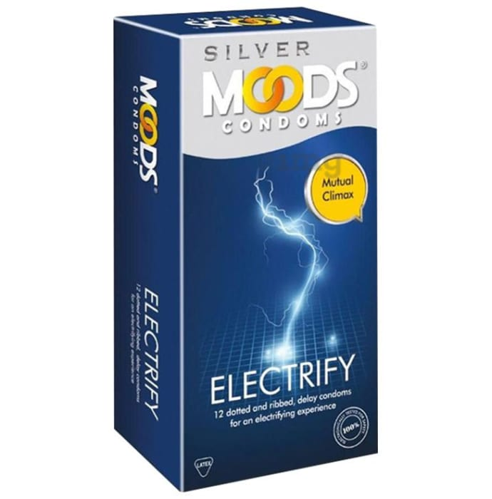 MOODS Silver Electrify Condom