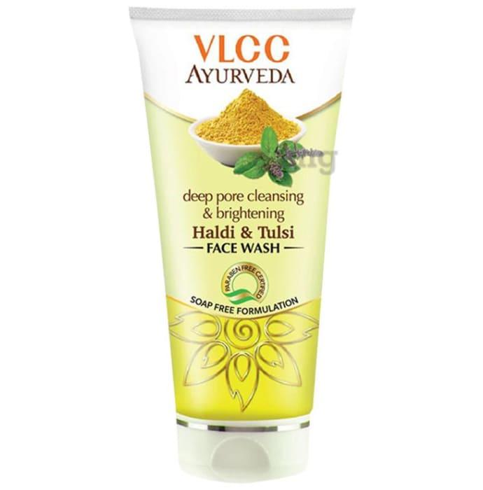 VLCC Ayurveda Deep Pore Cleansing & Brightening Haldi & Tulsi Face Wash