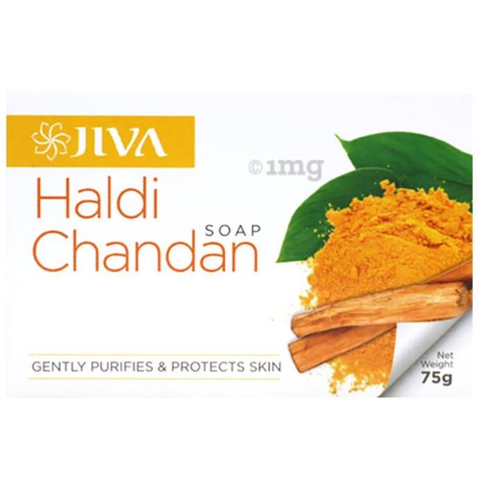 Jiva Haldi Chandan Soap