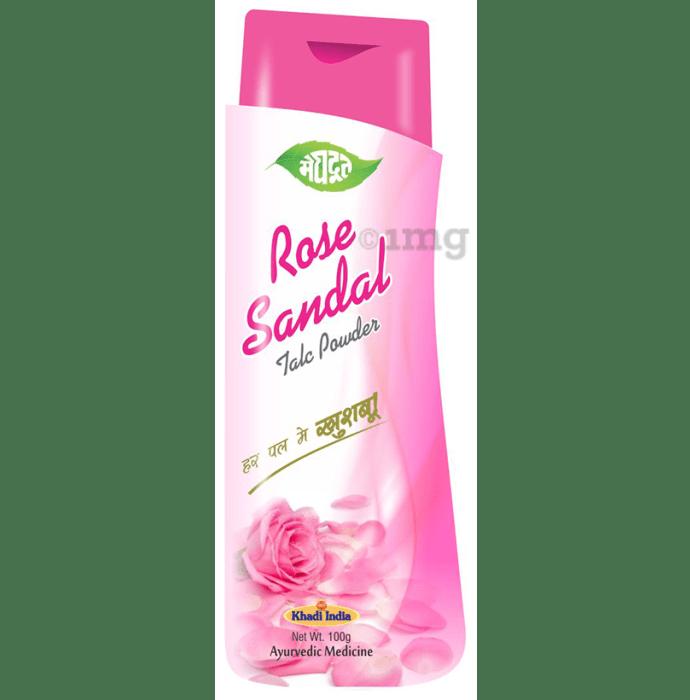 Meghdoot Rose Sandal Talc Powder