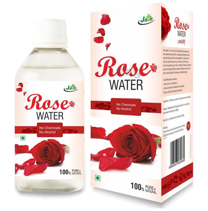 Jain Rose Water No Chemicals No Alcohol